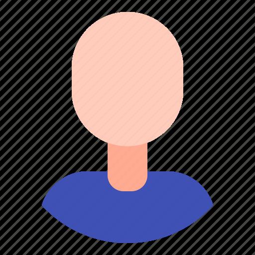 avatar, clear, unisex, user icon