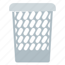 basket, empty, office, waste icon
