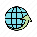 around, country, global, internet, national, the, world icon