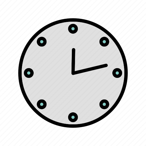 clock, schedule, timepiece, timer, wall, watch icon