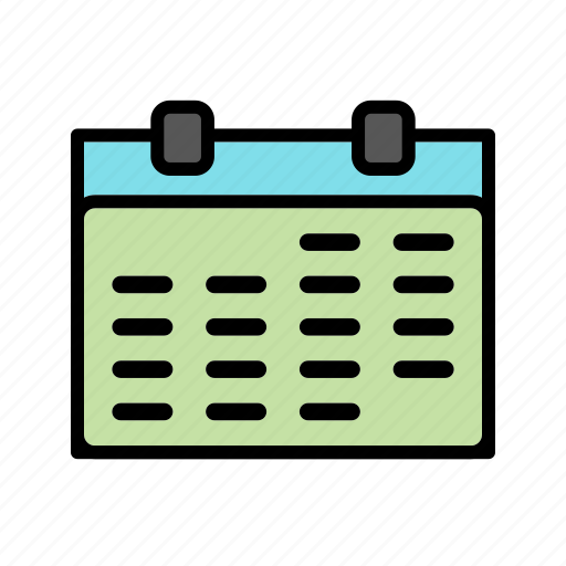 appointment, calendar, date, event, month, schedule, timetable icon