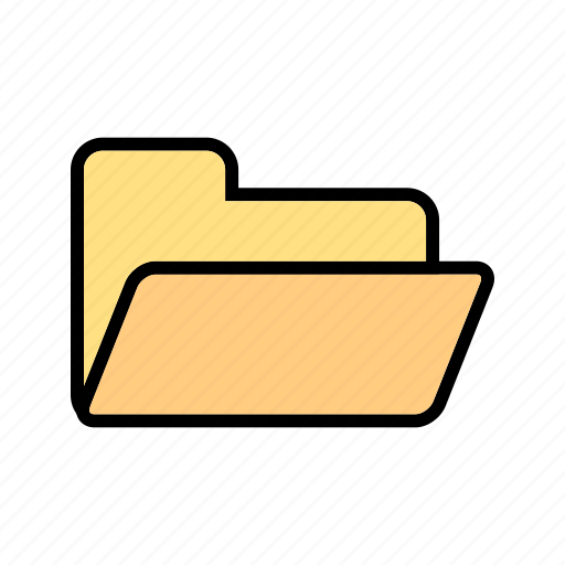 database, document, folder icon
