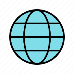 earth, globe, international, worldwide icon