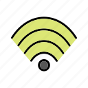 network, signal, wifi icon