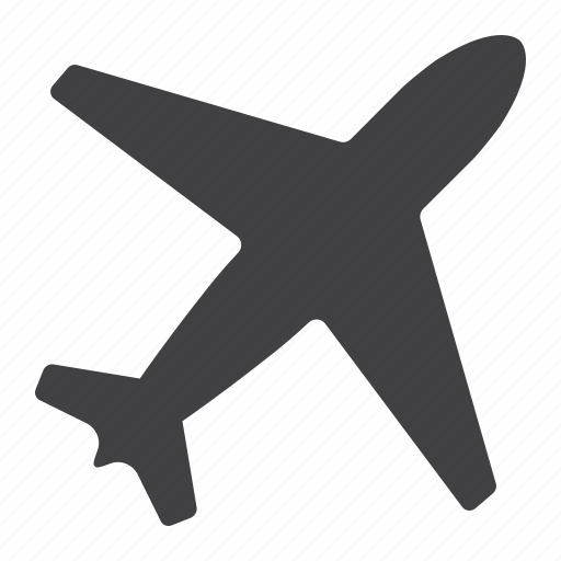 airplane, flight, fly, mobile, mode, plane, web icon