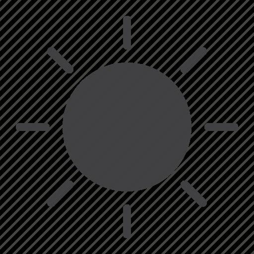 brightness, light, mobile, summer, sun, sunlight, web icon