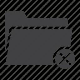 archive, delete, file, folder, information, mobile, web icon