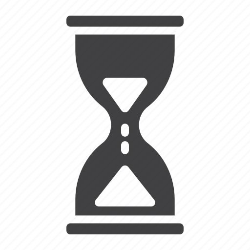 busy, clock, hourglass, mobile, time, timer, web icon