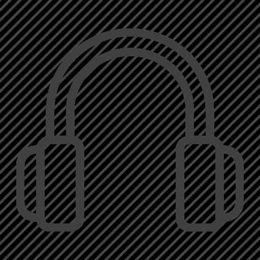 audio, headphones, listen, mobile, music, sound, web icon
