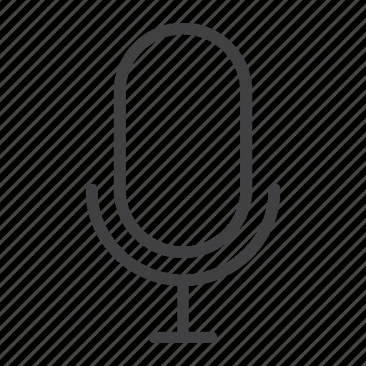 microphone, mobile, radio, record, sound, voice, web icon
