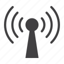 antenna, communication, mobile, network, podcast, web, wireless icon