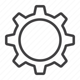cog, coqwheel, gear, mechanism, mobile, settings, web icon