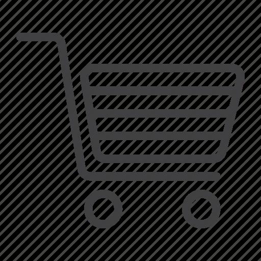 basket, ecommerce, mobile, online, shopping, store, web icon