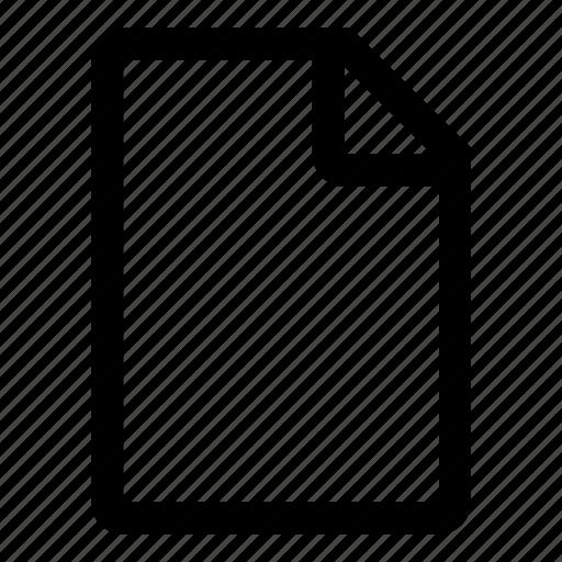 blanco, create, document, file, new, tiny2 icon