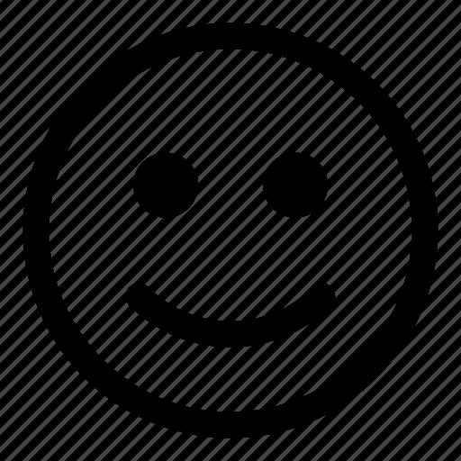 emoji, emoticon, happy, like, smile, smiley, tiny2 icon