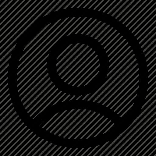 account, person, profile, silhouette, tiny2, user, username icon