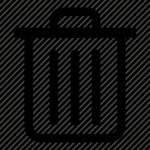 delete, remove, tiny2, trash, trash can icon