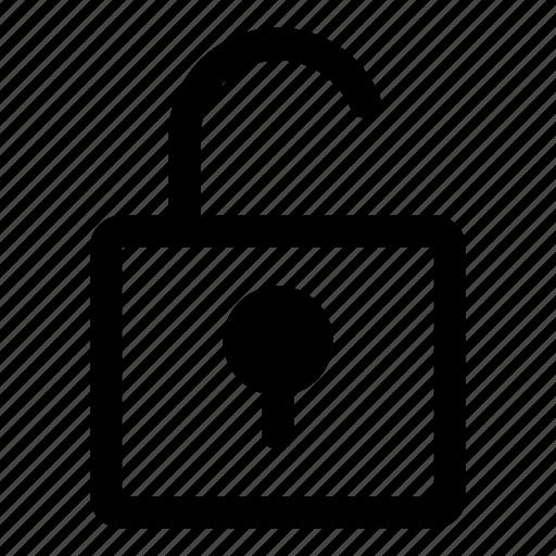 change, login, padlock, password, tiny2, unlock, unlocked icon