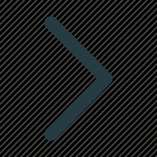 arrow, arrows, next, right, sign icon