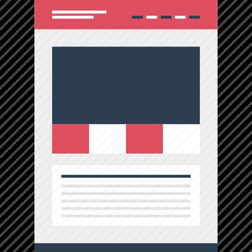 links, mockup, online, photo, quick, website icon