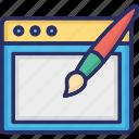 art, design, development, graphics, web icon