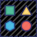 design, graphics, shape, shapes, web icon
