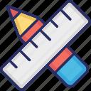 creation, design, development, pencil, web icon