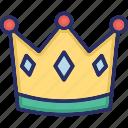 crown, empire, king, queen, queen hat icon