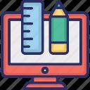creative, custom, design, graphics, web icon