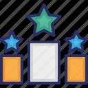 best, position, premium, rank, top icon