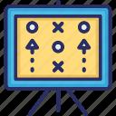 board, planning, solution, strategy, tiktak icon