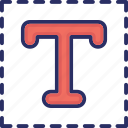 font, text, texture, typing, typography icon