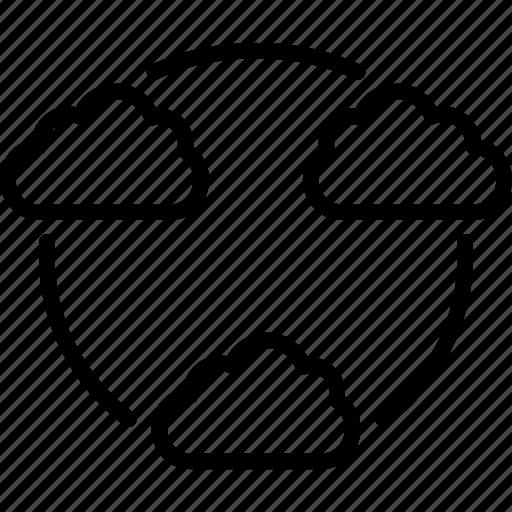 cloud, cloud data, share, storage, web icon