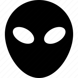alien, grey, space icon