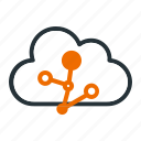 cloud, communication, connection, internet, network icon