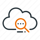 browsing, cloud, data, find, search, server, web