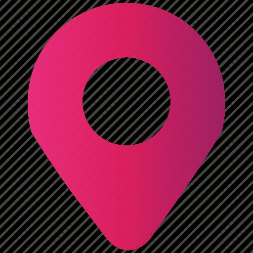 location, seo pack, seo services, web design icon