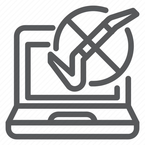 computer, hack, internet, network, protection, safety, warning icon
