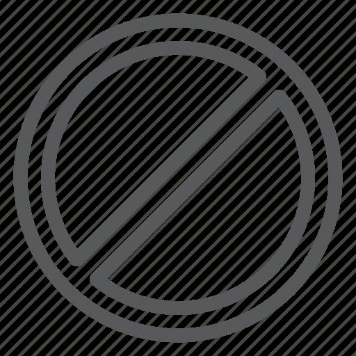 anti, ban, interface, not, prohibit, protection, stop icon