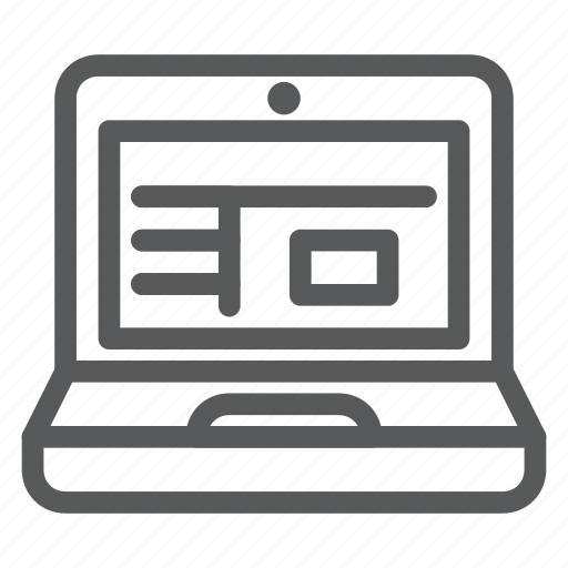 computer, desktop, interface, laptop, notebook, pc, protection icon