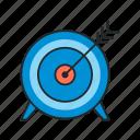achievement, goals, target icon