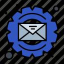 email, gear, optimization, process
