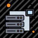 database, security, server