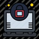 encryption, laptop, lock