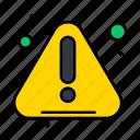 alert, error, notice, warning