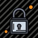 lock, padlock, security