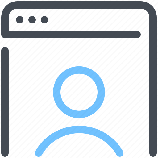 Account, browser, marketing, network, optimization, profile, web icon - Download on Iconfinder