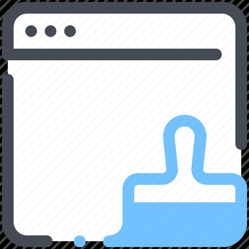 browser, design, graphic, marketing, optimization, web, webpage icon