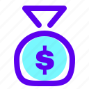 chips, coin, dollar, earnings, money icon