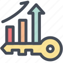analysis, analytics, keyword, keyword analytics, keywording, research, statistics icon